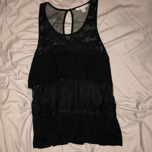 American Eagle Outfitters Black Tank Top, Size XS